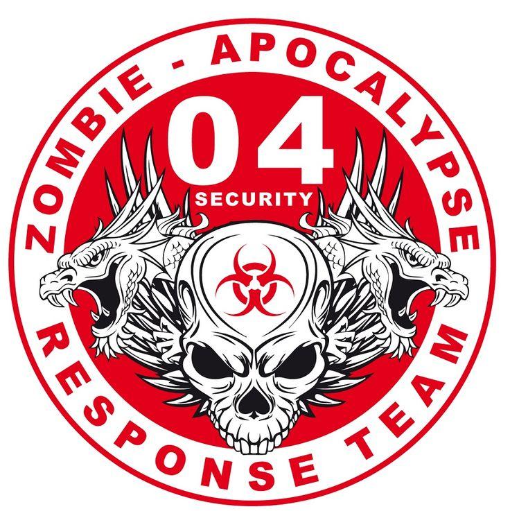 Zombie Biohazard Symbol
