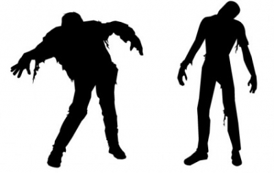 400x253 Free Vector Misc Zombies For Clip Art