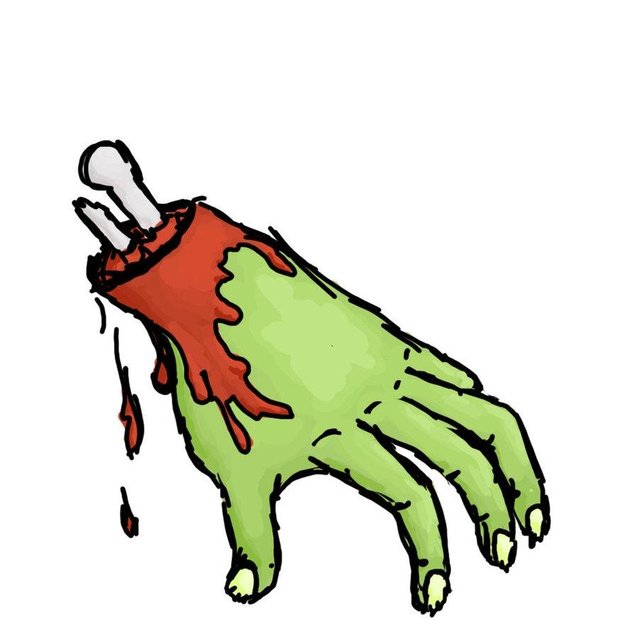 894x894 Zombie Hand Clip Art Cliparts