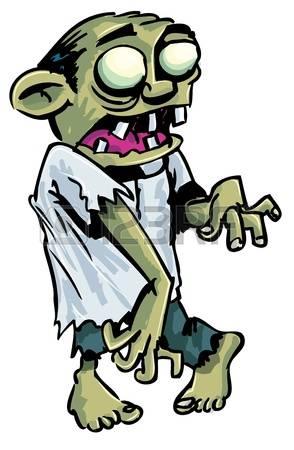 294x450 Zombie Clipart Cartoon Character