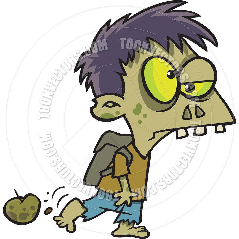 940x940 Cartoon Zombie Boy By Ron Leishman Toon Vectors Eps