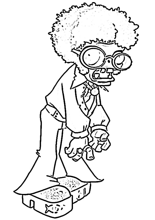 Zombie Clipart Black And White