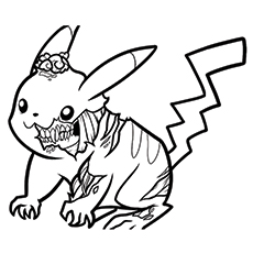 230x230 scary zombie coloring pages - Zombie Coloring Pages