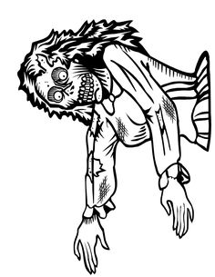 236x305 Zombies Coloring Pages Zombie Coloring Pages Pictures Imagixs