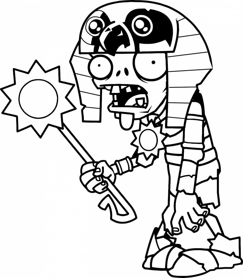 Zombie Coloring Pages | Free download on ClipArtMag