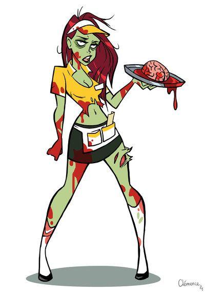 400x571 231 Best Zombie Girls Girls Girls Images Black Art