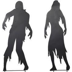 236x236 70% Off Sale Zombie Silhouettes Digital Clip Art