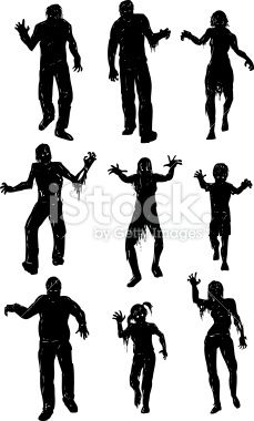 229x380 The Walking Dead Clipart Halloween Zombie