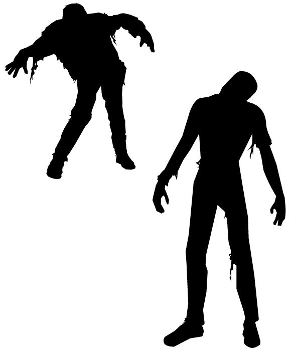 580x700 Vector Zombies