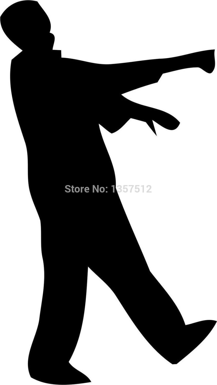 844x1500 Walking Zombie Clipart