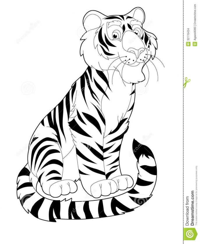 Safari Animals Coloring Pages: Free Download Best Zoo Animal