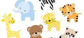 272x125 Jungle Animal Clipart Safari Clip Art Jungle Clip Art On Zoo