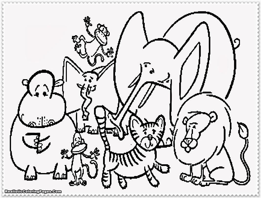 Zoo Coloring Pages | Free download on ClipArtMag