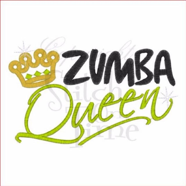Zumba Dancer Clipart