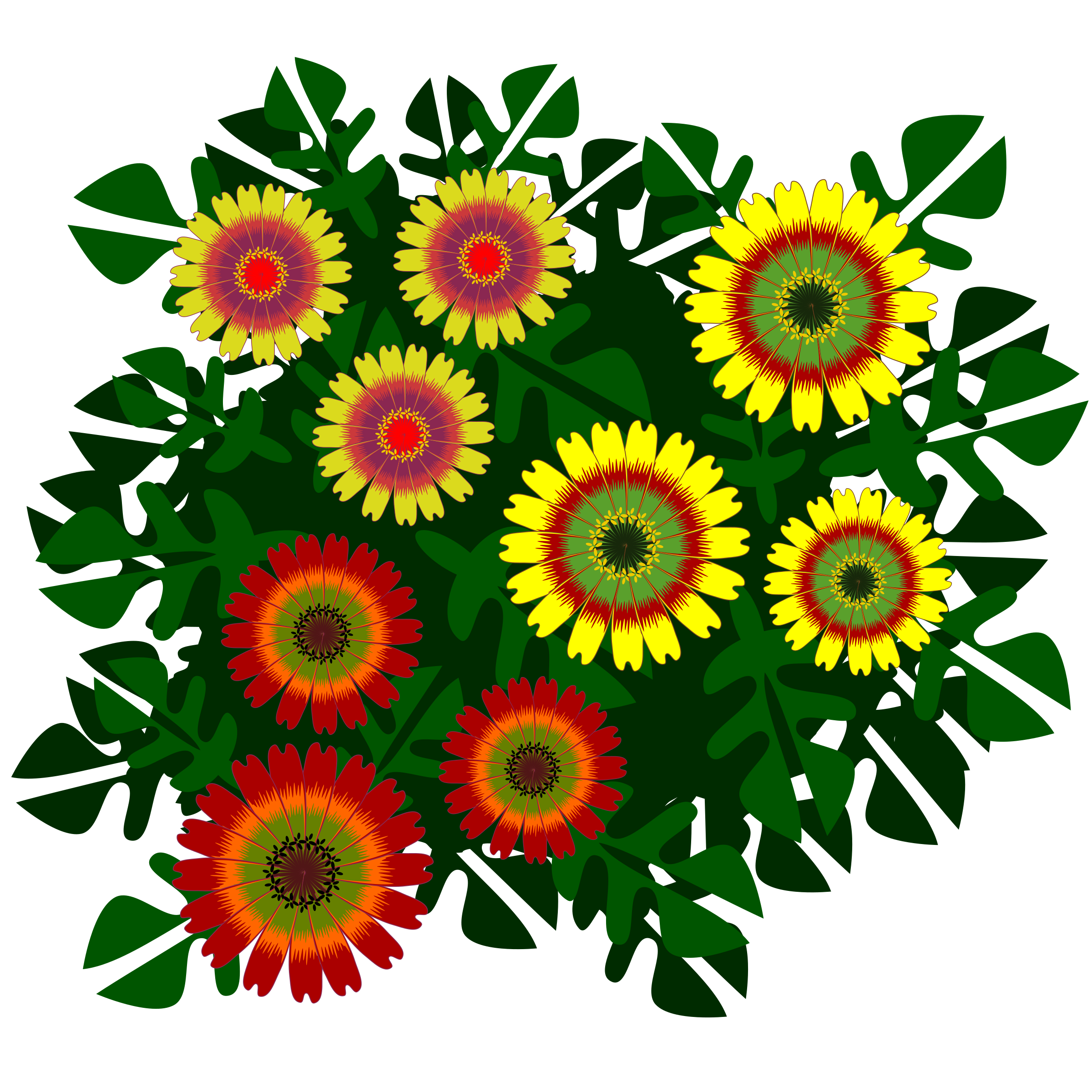 Drawing Flower Clipart