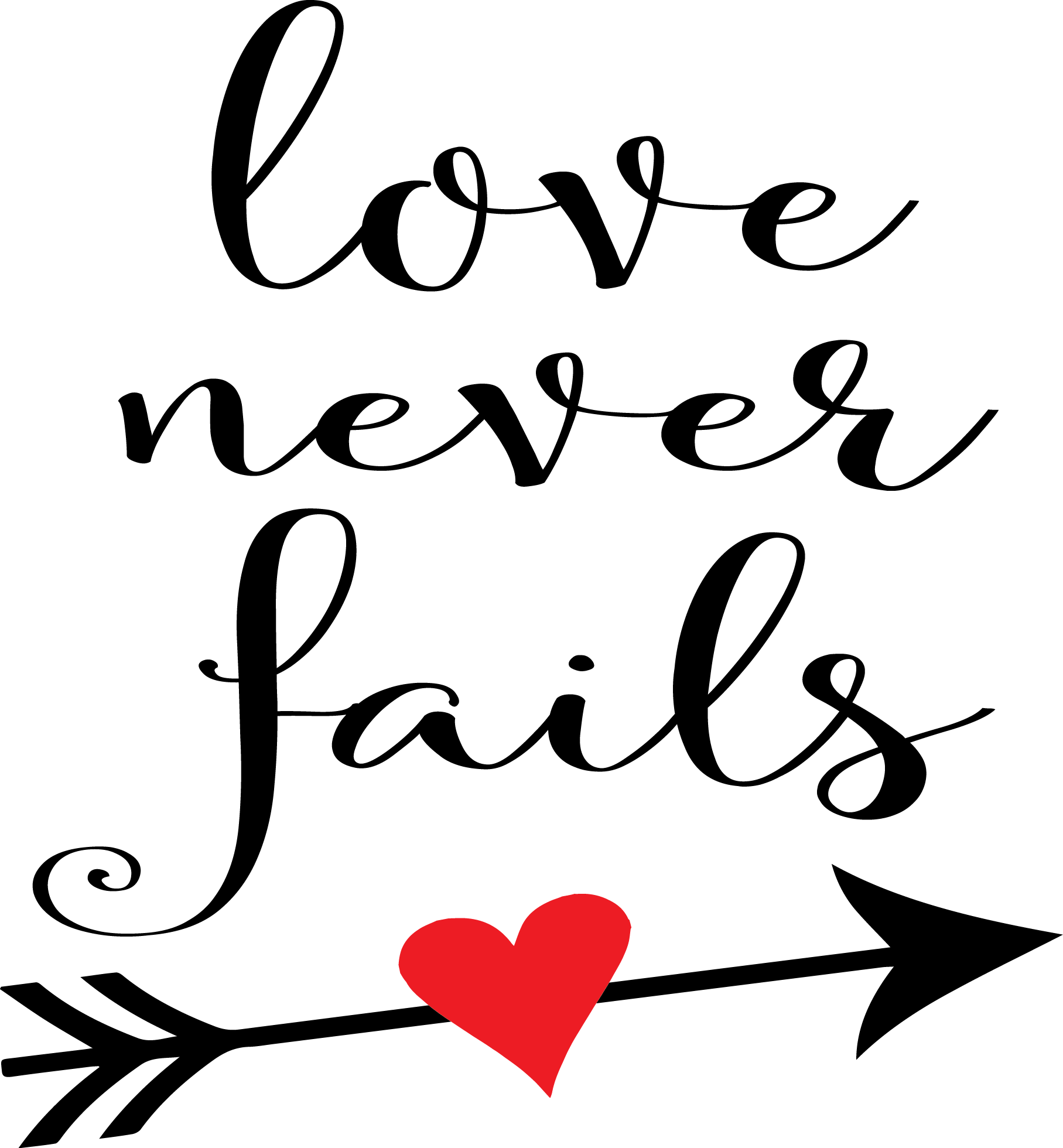 Love Never Fail