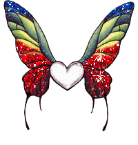 Queen Butterfly Clipart