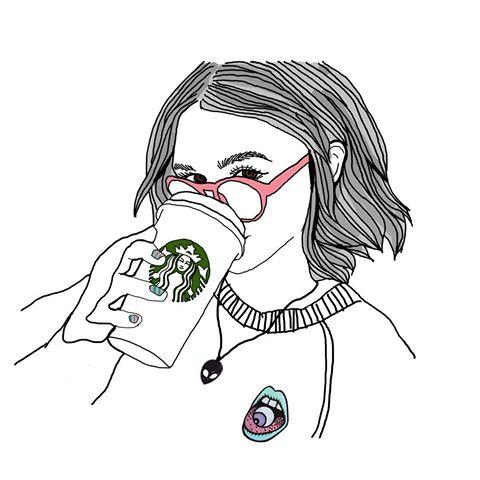 Starbuck girl clipart